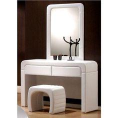 Fajna, prosta toaletka, chociaż lustro lepiej w poziomie