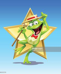 Vector Art : Frog Star