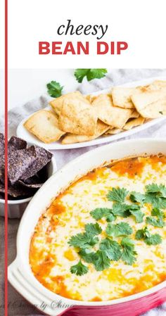 Need a tasty appetizer in less than 30 minutes to feed a crowd? This 3-ingredient bean dip is your answer! Cheesy and filling dip with ton of flavor without much effort. #beandip #beandiprecipes #beandiprecipestasty Best Comfort Food, Comfort Foods, Bean Dip Recipes, Fast Meals, Supper Recipes, Football Food, Yummy Appetizers, 3 Ingredients, Dressings