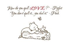 Love Quote- Piglet & Winnie the Pooh | Flickr - Photo Sharing!