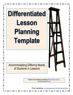 Differentiated Lesson Planning Template
