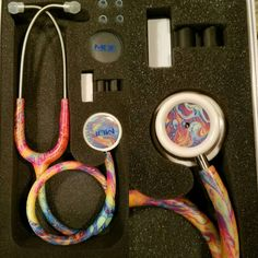 Check out this item in my Etsy shop https://www.etsy.com/listing/499963445/tie-dye-mdf-md-one-stethoscope