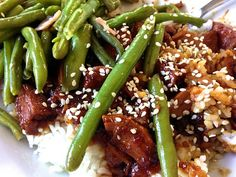 GF Sesame Chicken In The Crock Pot -- a gluten free meal with lots of flavor!
