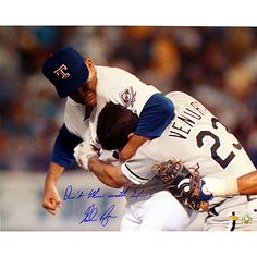 Steiner Sports Texas Rangers Nolan Ryan Autographed 16x20 Photo with Dont Mess with Texas Ins