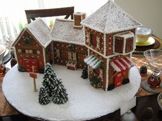 Believe — Gingerbread Houses