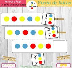 fichas-matematicas-niños Parent Board, Dot Day, Herve, Book Themes, Childrens Books, Kindergarten, Homeschool, Activities, Education