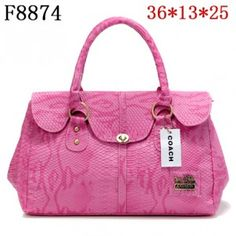 Coach Embossed Bag Factory 51078E