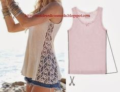 Diy t shirts Best T shirt refashion, Diy shirt, Refashioni Shirt Refashion, Diy Shirt, Clothes Refashion, Refashioning Clothes, Diy Tank, Altering Clothes, Umgestaltete Shirts, Diy Kleidung, Diy Vetement
