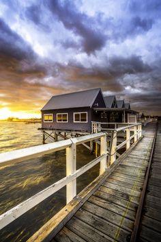 ~~The Dash, Busselton Jetty, sunrise, Western Australia by Brian Kinson~~