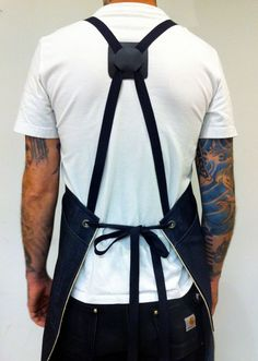 HONED Signature Apron Limited Edition Denim by honedcraft on Etsy, $75.00 ohhhh I need this for work!!                                                                                                                                                                                 Más