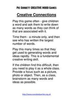 Pie Corbett Hashtags: The Spelling Activities, English Activities, Teaching Activities, Teaching Resources, Tes Resources, School Resources, Talk 4 Writing, Writing Games, Teaching Writing