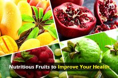4 ‪#‎Nutritious_Fruits‬ that help to improve your ‪#‎health‬