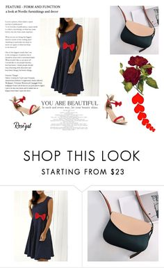 """Rosegal 68"" by samra-sisic ❤ liked on Polyvore featuring vintage"