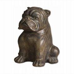 LightingShowroom.com: Butch the Dog Statue, $108.00