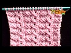 Lace Knitting Stitches, Lace Knitting Patterns, Crochet Blanket Patterns, Knitting Designs, Stitch Patterns, Knitting Help, Baby Knitting, Crochet Baby Poncho, Knit Leg Warmers
