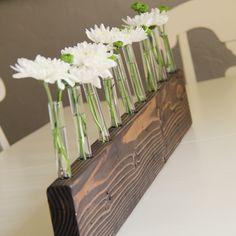 DIY Bud vase centerpiece