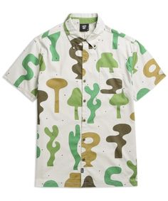 Lazy Oaf Camo Shapes Shirt