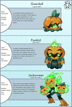 People had been making Ghost/Grass Jack-O-Lantern Fakemon for years, but then Gen VI came along...