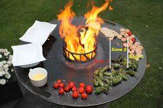 Feuerplatte 2.0: Spezialbeschichtet und für den Kugelgrill | Futterattacke.de Diy Grill, How To Grill Steak, Grill Design, Barbacoa, Dutch Oven, Bbq, Patio, Outdoor Decor, Planes
