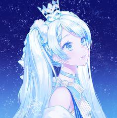 Anime Art Manga Hatsune Miku 57 Ideas For 2019 Miku Kawaii, Manga Kawaii, Kawaii Anime Girl, Anime Art Girl, Manga Girl, Anime Girls, Pretty Anime Girl, Beautiful Anime Girl, Anime Snow