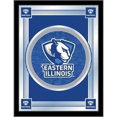 Eastern Illinois Panthers Logo Mirror. Visit SportsFansPlus.com for discount coupon.