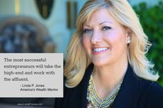 It's all about creating your luxury brand business! http://lindapjones.com