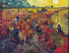 The Red Vineyard by Van Gogh