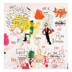 Riddle Me This, Batman, 1987 Giclée-Druck von Jean-Michel Basquiat - bei AllPosters.ch