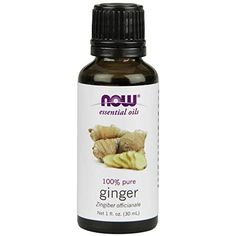 NOW Foods Ginger Oil Liquid is steam-distilled from dried root. Ginger Oil is pure and has a spicy, warm aroma. For a variation add 1 drop each of ginger oil and orange oil; and 2 drops of sandalwood oil blend to a diffuser and enjoy. Ginger Essential Oil, Eucalyptus Essential Oil, 100 Pure Essential Oils, Idaho, Aromatherapy Oils, Oil Uses, Healthy Foods To Eat, Vitamins And Minerals, Pure Products