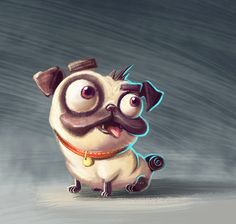 Acquire great tips on funny pugs. They are actually available for you on our internet site. Pug Illustration, Pug Tattoo, Pug Art, Pug Love, Training Your Dog, Training Tips, Animals And Pets, Cute Dogs, Graffiti