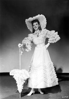 Irene Sharaff design for Judy Garland in Meet Me in St. Louis.