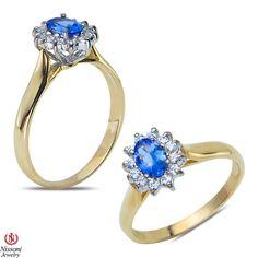 Ebay NissoniJewelry presents - 1/5CT Diamond Fashion Ring with Tanzanite 14k Yellow gold    Model Number:FRV5669D-Y477TA    http://www.ebay.com/itm/1-5CT-Diamond-Fashion-Ring-with-Tanzanite-14k-Yellow-gold/321612083276