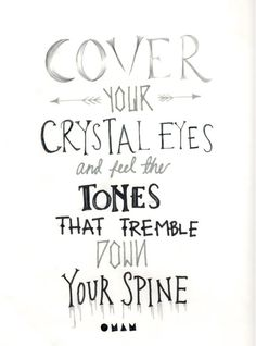 Crystals - Of Monsters and Men lyrics -----------------------------------This has been stuck in my head for the past week