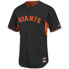 Majestic Athletic  Official Store, Men's Batting Practice Jersey - San Francisco Giants, black orange giants bp, San Francisco Giants, 3800-GIBP-GIA-MVU
