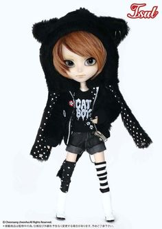 """Isul doll """"NekoNeko MaoMao"""" includes the following accessories:  Eyeglasses, T-shirt (4kinds), Socks (2 kinds), and Doll Stand. <br><br> Feeling:  Staring at the flowing cloud...  Today I am going to think about the girl I met yesterday, and the end of the world.  That nice tail that swiftly ran away... Situation like so."""