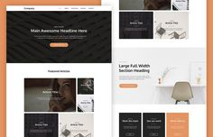 Cardly : Free Card-Based Website Template