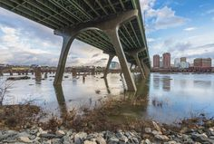 @michaelcphoto - Under the bridge. .  #VisitRichmond #RVA #LoveVa