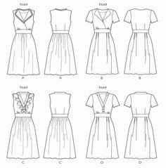 Pattern : McCall's 6503 - Dress