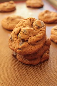 Life on Food: Gingerbread Chocolate Chip Cookies
