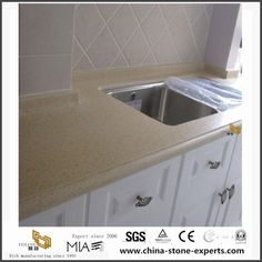 China Quality Beige Quartz Stone Countertops Options with Best Price from Countertop Factory Manufacturers, Suppliers - Wholesale Price - Yeyang Stone Factory Quartz Kitchen Countertops, Granite Slab, Stone Countertops, Artificial Marble, Artificial Stone, 24 Bathroom Vanity, Ceramic Sink, Quartz Stone, White Marble