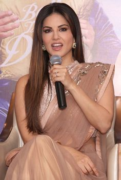 Sunny Leone promoting 'Kuch Kuch Locha Hai'. #Bollywood #Fashion #Style #Beauty