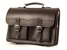 Leather Messenger Bag Men, Brown Leather Briefcase, Shoulder Bag, Men's…