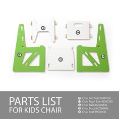 Modern Kids Table and Chairs | Sprout