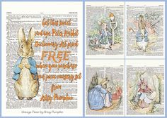 FREE 5x7 Print with Purchase  Peter Rabbit Nursery by ArtsyPumpkin