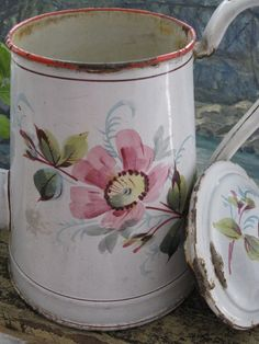 old enamelware