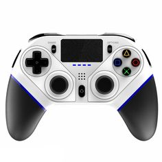 iPega P4010 - US$24.99 (coupon: BGP401004 ) 📉 bluetooth Wireless Gamepad Joyctick with Touchpad for iOS Android Mobile Phone for PS4 PS3 PC Six-axis Somatosensory Vibration Programmable Game Controller - White #Gamepad #Bluetooth #Wireless #Game #Controller #Joystick #iPEGA #iPega #P4010 #джойстик #gearbest #coupon #купон 1840482 Ps3 Games, Game Controller, Bar Lighting, Ps4, Consumer Electronics, Bluetooth, Android, Phone, Coupon