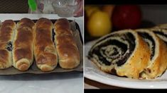 zá Hot Dog Buns, Hot Dogs, Strudel, Sushi, Ricotta, Food And Drink, Bread, Baking, Cookies