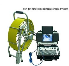Hot sale 360 degree rotate pan tilt plumbing sewer pipe inspection camera with 512hz transmitter and 512hz pipe loactor >>> Want to know more, click on the image.