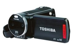 Toshiba has unleashed its first full HD camcorder in the shape of the Toshiba Camileo 3d Video, Full Hd Video, Camcorder, Latest Camera, Videos, Ad Hoc, Video Capture, Video Photography, Latest Video