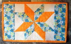 Ali's Star Placemat Pattern by AlisOriginalArt on Etsy, $3.50